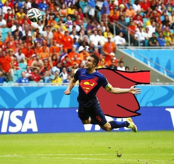 robin van persie goal photoshop 4
