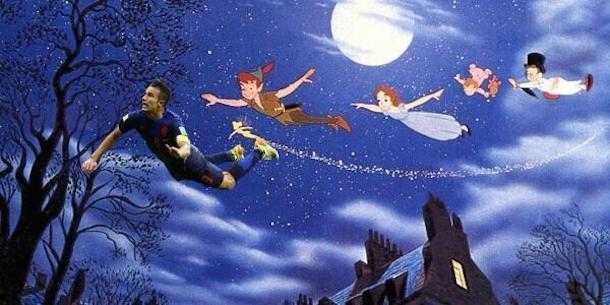 robin van persie goal photoshop 9