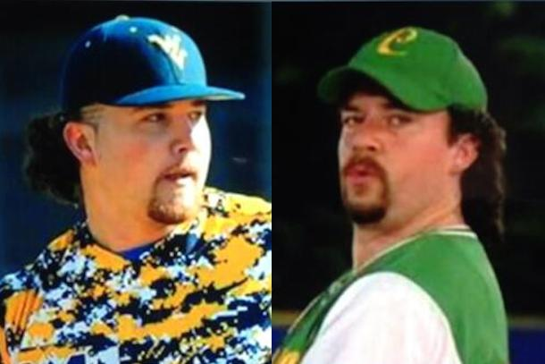 sean carley - kenny powers look-alike drafted by yankees