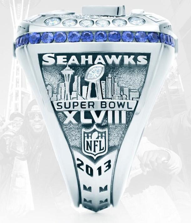 seattle seahawks super bowl ring 3