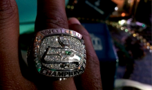 The Seahawks Got Their Super Bowl Rings Last Night (Pics)