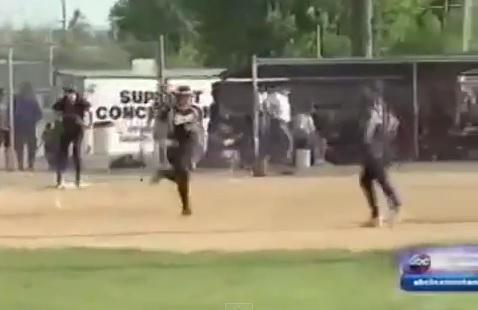 softball state championship walkoff strikeout