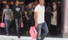Sergio Ramos Organizing Team Panty Shopping Outing in Advance of the 2014 World Cup (Video)