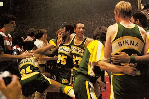 supersonics bullets 1979 - nba finals rematches