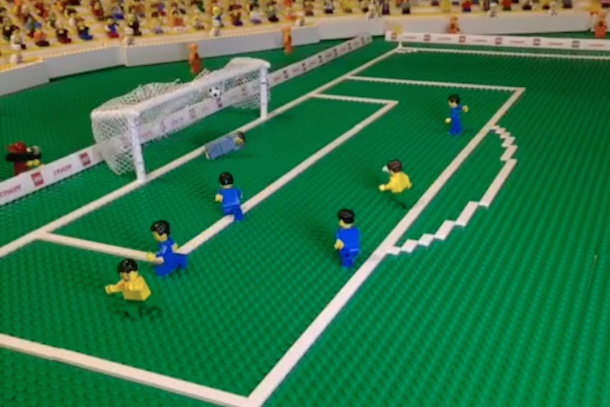 tim cahill goal lego re-enactment
