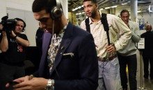 Tim Duncan Wore Some Pretty Sweet Jeans to Game 4 of the NBA Finals Last Night (Pics)