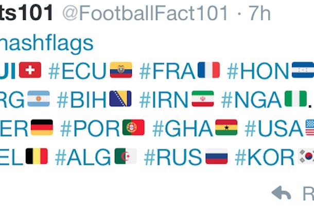 Fifa World Cup Hashtags