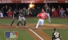 MLB Adds Some Special Effects to Yoenis Cespedes' Historic Throw (Video)