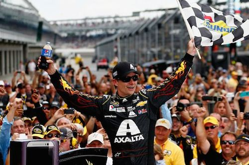 1 jeff gordon brickyard 400 - winningest nascar drivers of the modern era