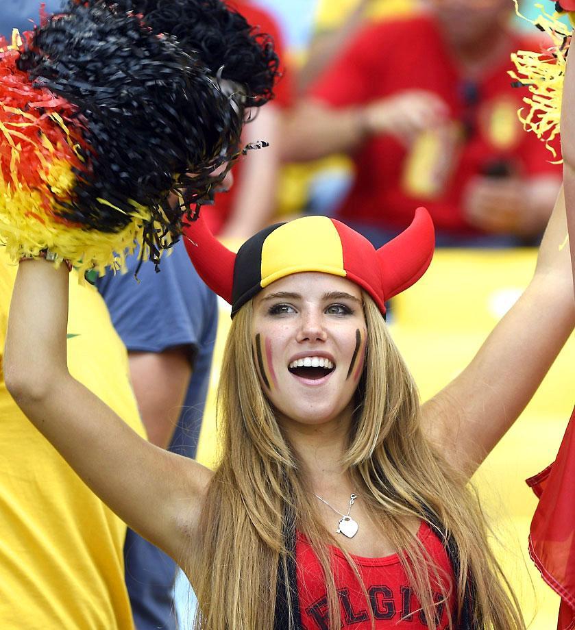 13 hot belgium fan - hottest female fans 2014 world cup