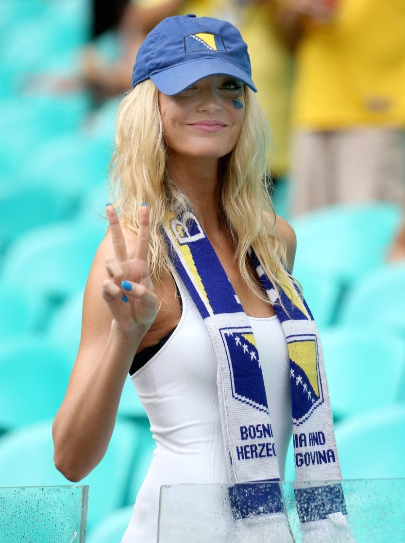 15 hot bosnia fan - hottest female fans 2014 world cup