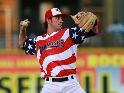 18 rochester red wings american flag jerseys - crazy minor league baseball jerseys