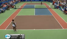 Two-on-One Doubles Tennis Is Very Sad Tennis (Video)