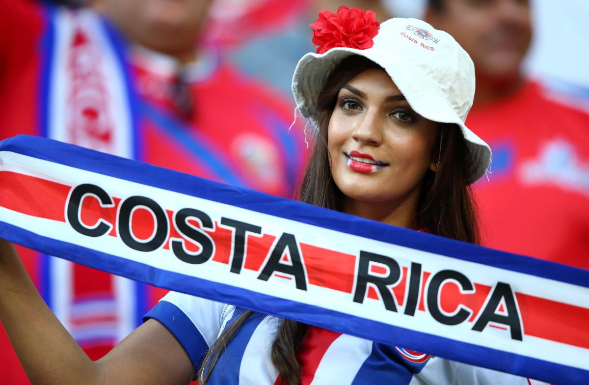 20 hot costa rica fan - hottest female fans 2014 world cup