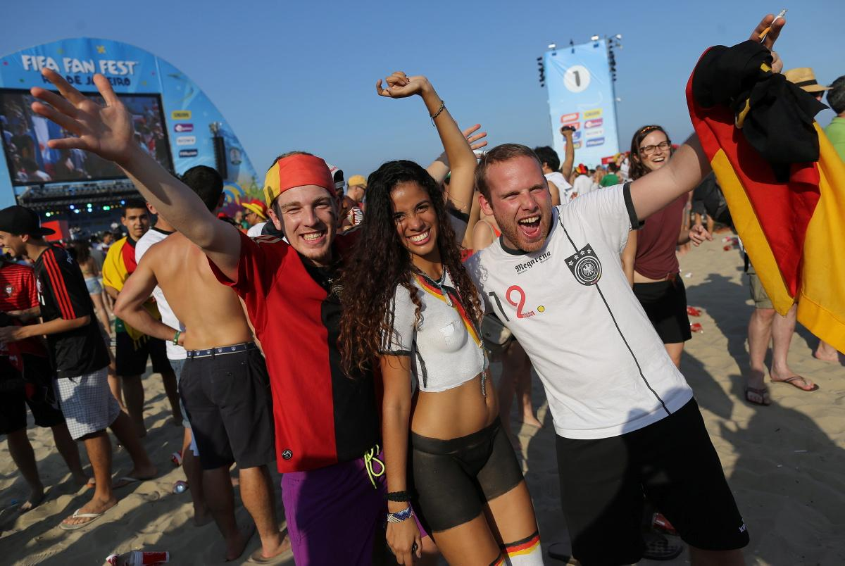 27 hot germany fan - hottest female fans 2014 world cup