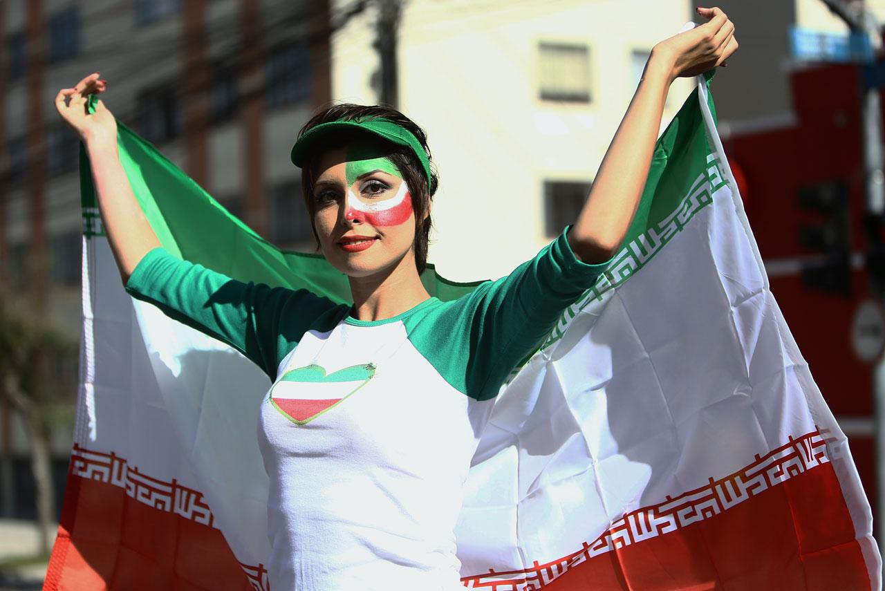 28 hot iranian fan - hottest female fans 2014 world cup