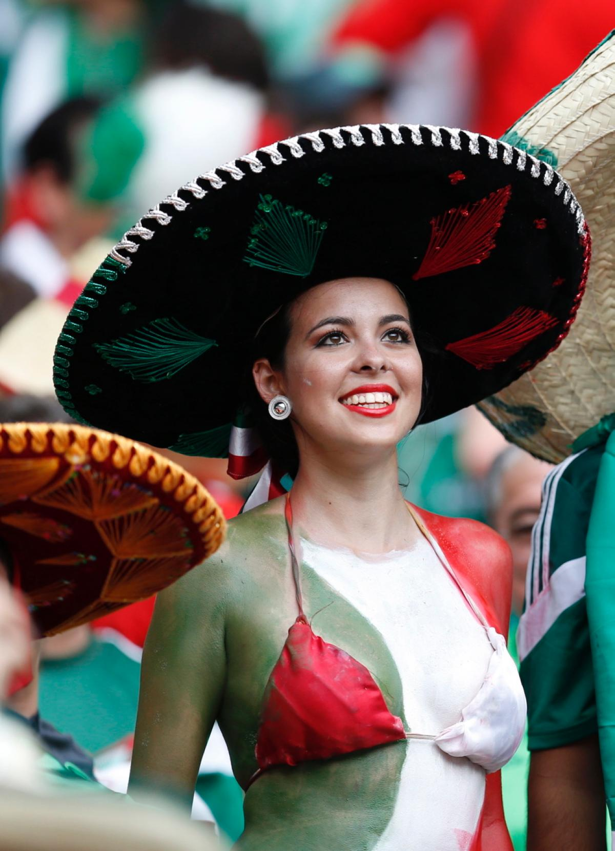 29 hot mexico fan - hottest female fans 2014 world cup
