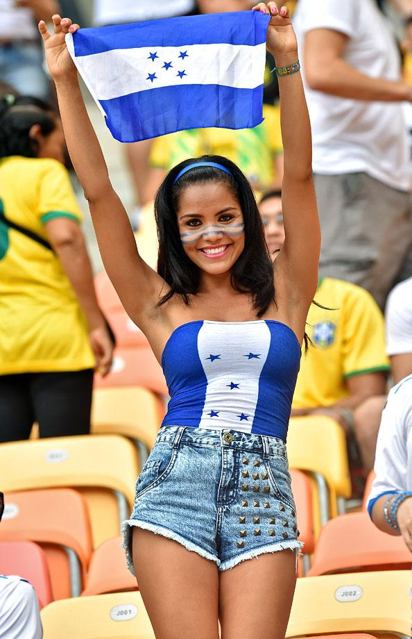 3 hot honduras fan - hottest female fans 2014 world cup