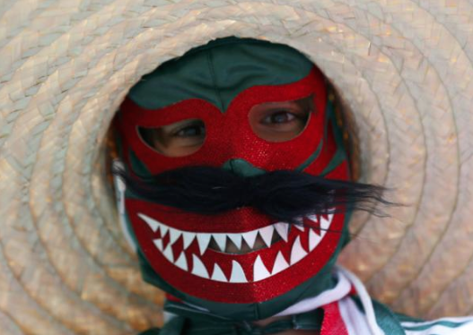 3 terrifying mexico world cup fan - craziest fans at 2014 fifa world cup