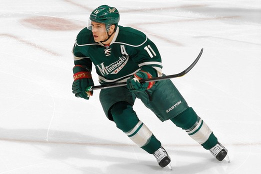 4 zach parise - highest paid nhl players 2014-15 (highest nhl salaries 2014-15)
