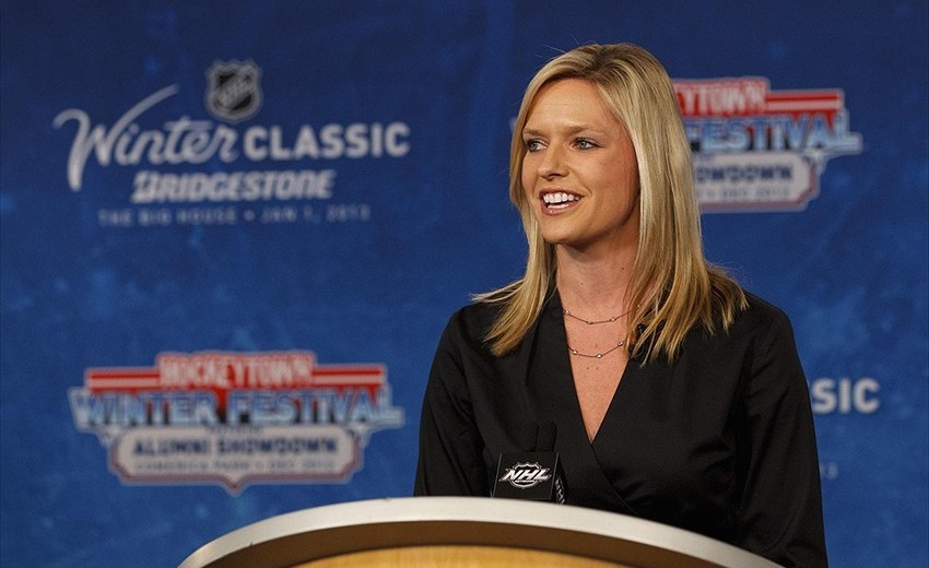7 kathryn tappen (jay leach) - sports reporters who dated athletes
