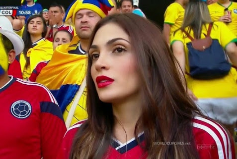 8 hot bolombia fan 2 - hottest female fans 2014 world cup