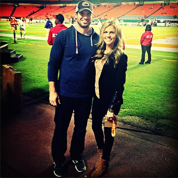 8 samantha steele ponder (christian ponder) espn - sports reporters who dated athletes