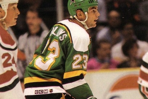 9 brian bellows (nhl) - best athletes to wear 23