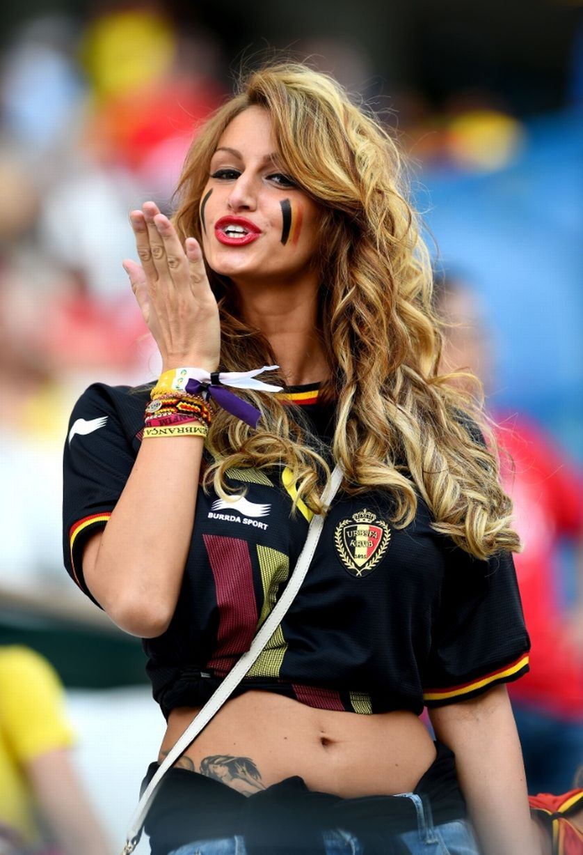 30 Hottest Female Fans Spotted At The 2014 FIFA World Cup