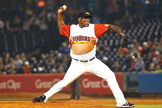 9 toledo mud hens hot dog jerseys (2013) - crazy minor league baseball jerseys