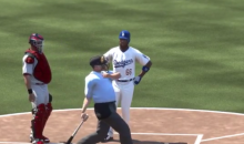 'MLB: The Show' Has an Ump Showing Yasiel Puig How to Gloat (Video)