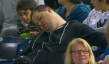 Sleeping Yankees Fan Caught on Camera Suing ESPN for $10 Million (Video)