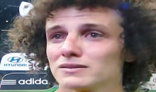 David Luiz Gives Tearful Apology to the People of Brazil for Their Loss to Germany (Video)