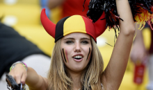 Sexy Belgium World Cup Fan Gets Modeling Gig For L'Oreal (Video)