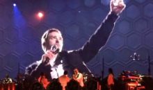 Justin Timberlake Gives a Toast to Deceased Bills Owner Ralph Wilson at Buffalo Concert (Video)