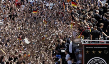 The German World Cup Victory Parade Looked Pretty Fun…If You Like Crowds (Photo + Video)