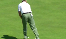 Ernie Els Putts Like a Cheating Toddler at the British Open (Video)