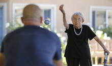 Padres Game First Pitch to Be Tossed Out by 105 Year-Old Woman (Pic)