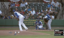 Tracy McGrady Pitches a Very Dubious Strikeout in a Minor League Game, Promptly Retires (Video)
