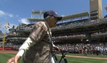 Yup, That 105 Year-Old Lady's First Pitch Was Better Than 50 Cent's (Video)