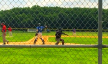 Umpire Gives Most Over-the-Top Strikeout Calls Ever (Video)
