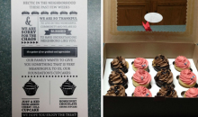 LeBron James Gave His Neighbors Cupcakes to Apologize for the Media in the Neighborhood (Pics)