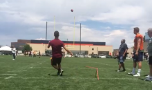 Miralem Pjanic's 60-Yard Soccer Goal Came After Field Goal Practice with the Denver Broncos (Videos)
