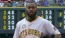 Pittsburgh's Josh Harrison Offers Up Some Wacky Baserunning Against the Rockies (Video + GIF)