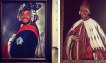 Connor Barwin Commissioned Some Very Regal Paintings of His Eagles Teammates for Their Locker Room (Pics)