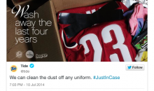 Tide Uses Hype Surrounding LeBron James' Decision to Create Brilliant Laundry Detergent Ad (Pic)
