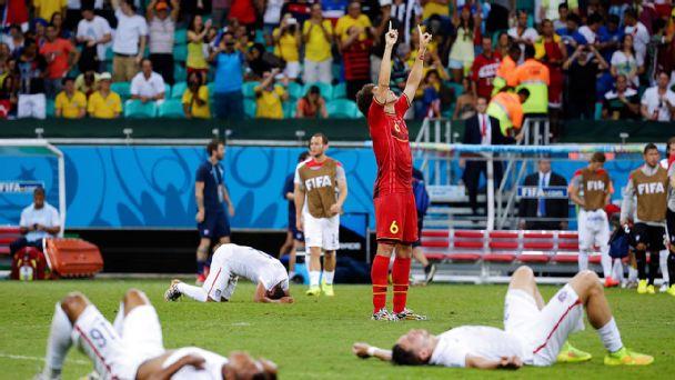 USA Belgium World cup