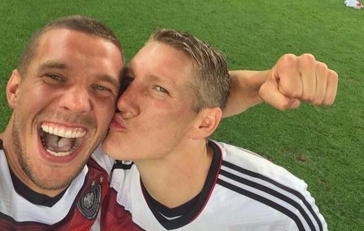 World Cup Lukas Podolski Selfie