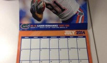 So that Florida Gators Calendar with Aaron Hernandez as Mr. July Is Actually Real (Pic)