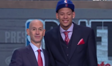 NBA Commish Adam Silver Promised Former Baylor Hoops Star Isaiah Austin a Job After He Graduates from College (Video)
